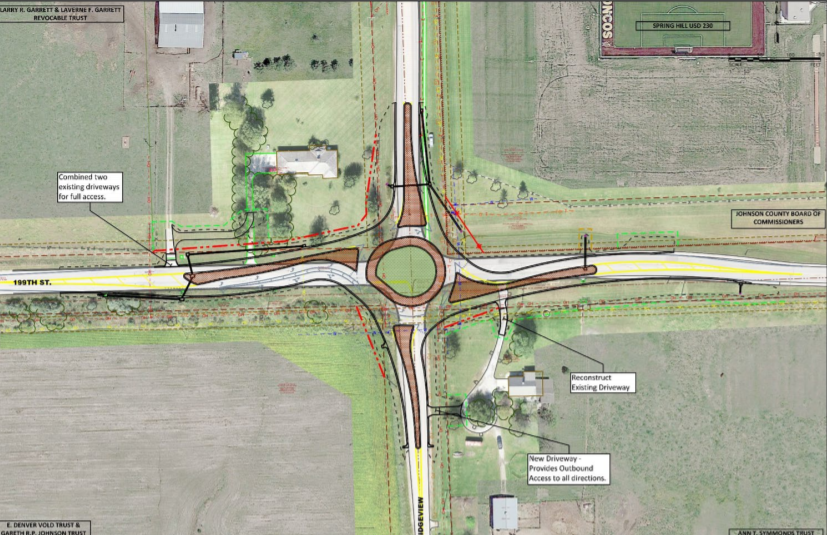 199th Street roundabout plans